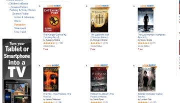 Emilyann Girdner #2 Amazon Best-Seller Next to Catching Fire