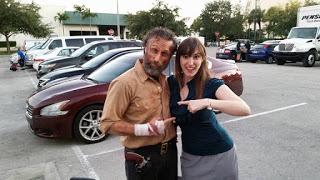 The Walking Dead Rick Grimes Look a Like with Obsidian Series Author Emilyann Girdner