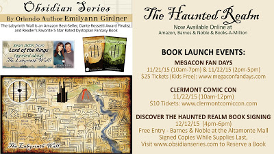 The Haunted Realm book launch event dates