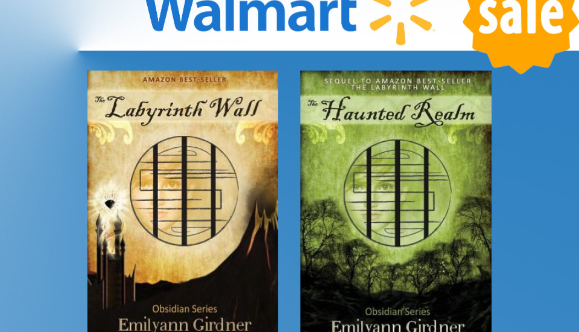 The Labyrinth Wall and The Haunted Realm Fantasy Labyrinth Book Deal at Walmart, Author Emilyann Girdner