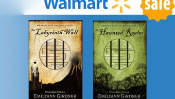 Walmart Fantasy Book Deal: The Labyrinth Wall & The Haunted Realm!