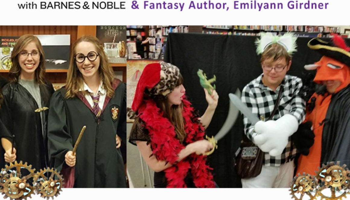 Orlando Event Get Pop-Cultured with Barnes & Noble and Fantasy Book Author Emilyann Girdner, Author Book Signing Orlando 2017, Upcoming Events Orlando, Fl