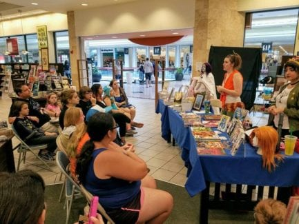 Emilyann Allen, Girdner, Phoenix, Fantasy Books Author Book Signing Coloring Novels Barnes