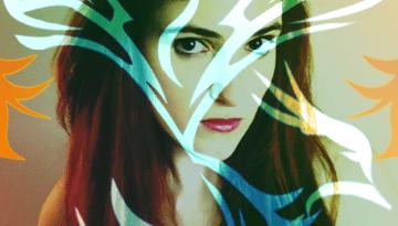 Rainbow Portrait Emilyann Allen Artist - Phoenix Rising