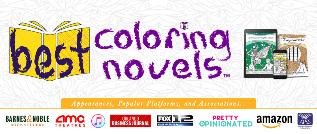 Shop for Best Coloring Novels for Teens by Emilyann Allen
