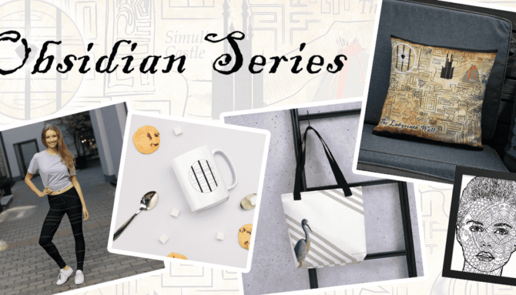 Obsidian Series Books Merchandise Shop - Posters, Shirts, Mugs, and More