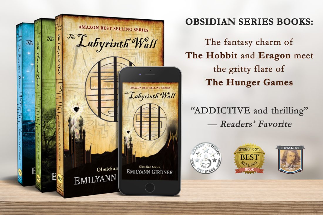 Obsidian Series Fantasy Books The Labyrinth Wall