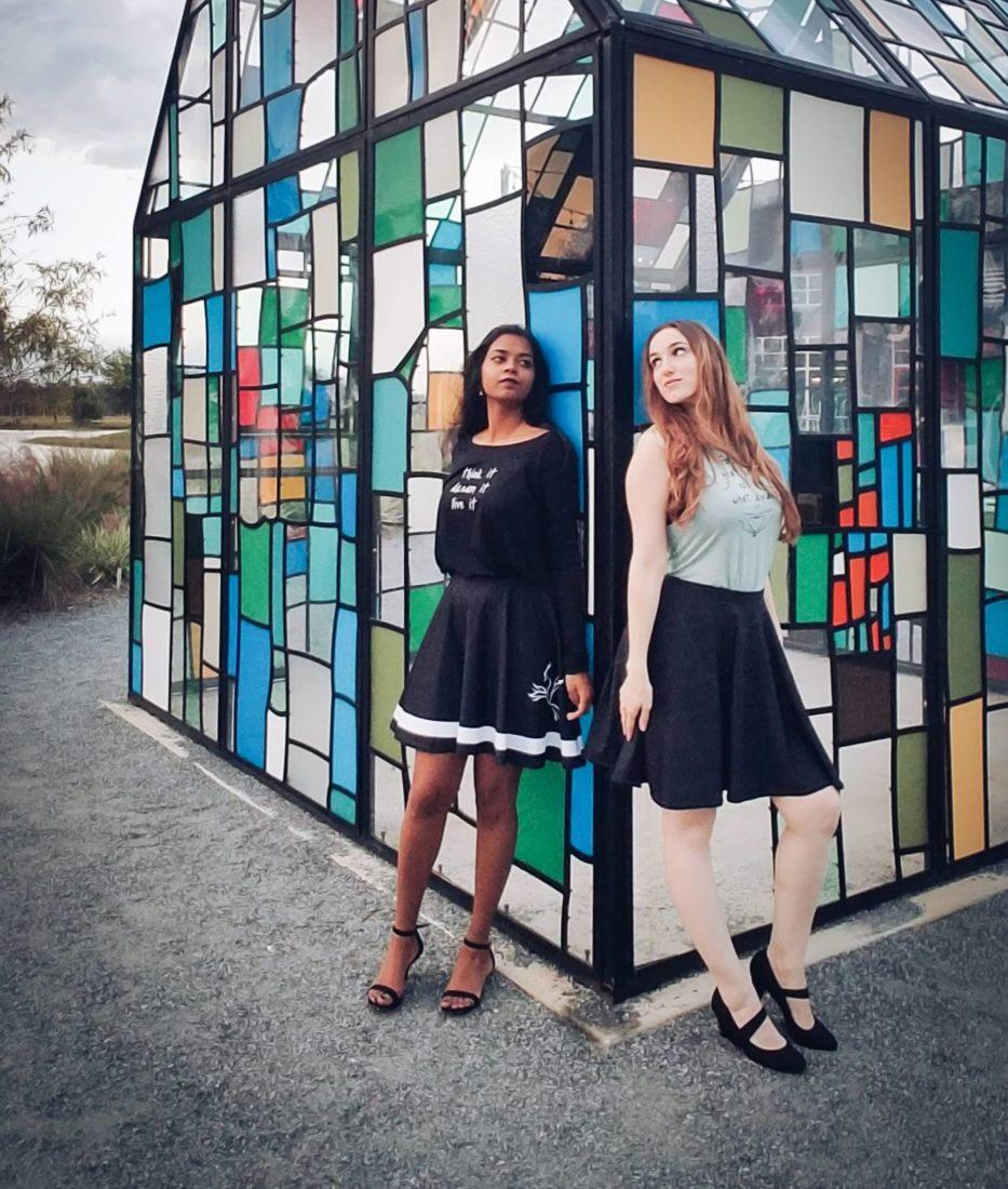 Emilyann Allen Author and Designer and Deanna Lingum
